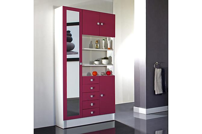 Challis Møbelpakke - Hvit/Rosa - Baderom - Baderomsmøbler - Komplette møbelpakker