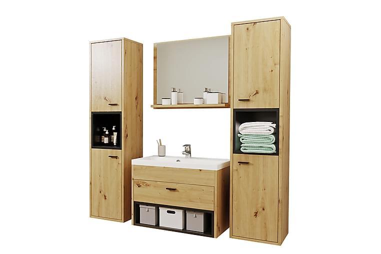 Ekomi Baderomssett - Svart - Baderom - Baderomsmøbler - Komplette møbelpakker