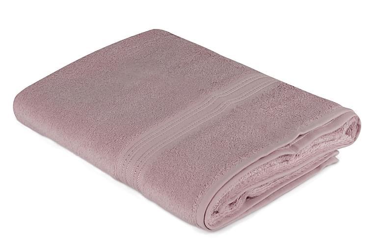 Hobby Badehåndkle 70x140 cm - Rosa - Innredning - Tekstiler - Baderomstekstiler