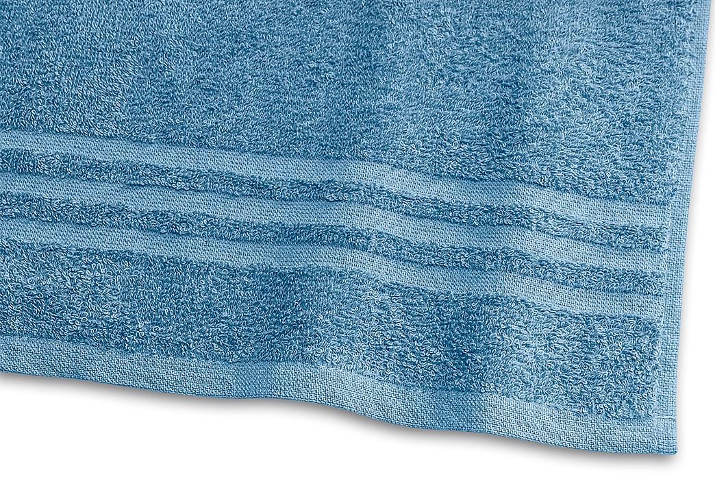 Basic Frotté 30x50 cm Mellomblå - Borganäs - Innredning - Tekstiler - Baderomstekstiler