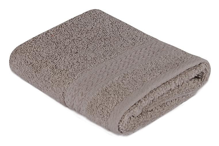 Hobby Håndkle 30x50 cm - Grå - Innredning - Tekstiler - Baderomstekstiler