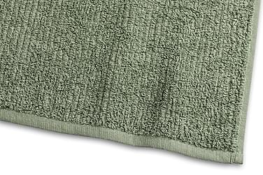 Stripe Frotté 30x50 cm Grønn