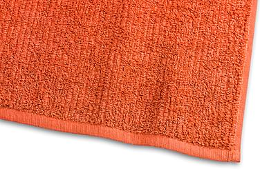 Stripe Frotté 30x50 cm Oransje
