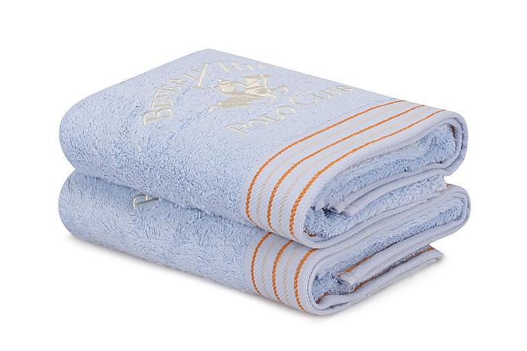 Tarilonte Håndkle 2-pk - Blå - Innredning - Tekstiler - Baderomstekstiler