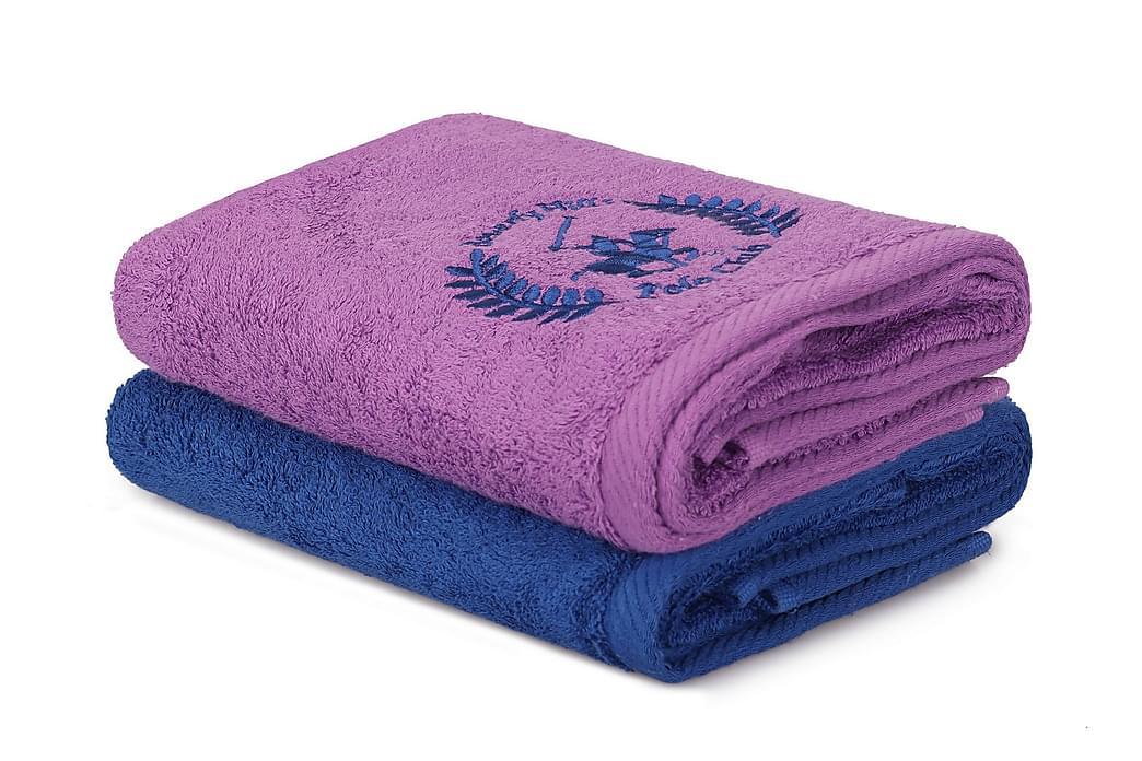Tarilonte Håndkle 2-pk - Blå/Lilla - Innredning - Tekstiler - Baderomstekstiler
