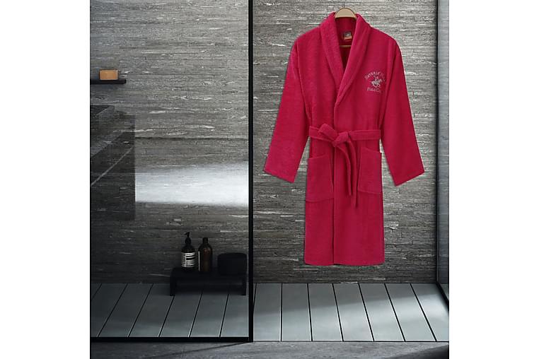 Beverly Hills Polo Club Morgenkåpe L/XL - Rosa - Innredning - Tekstiler - Baderomstekstiler