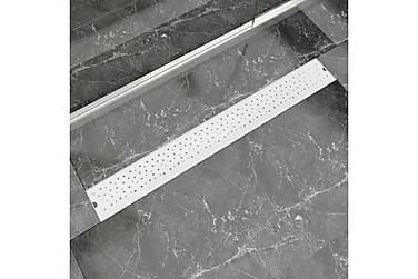 Lineær Dusjavløp Boble 930x140 mm Rustfritt stål