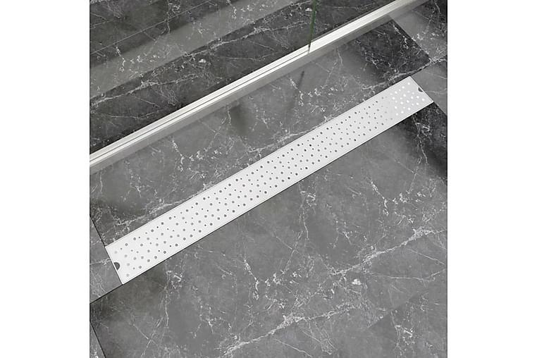 Lineӕr Dusjavløp Boble 1030x140 mm Rustfritt stål - Baderom - Baderomstilbehør - Avløp & sluk