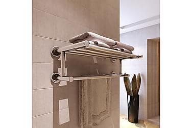Håndkleholder 6 rør rustfritt stål