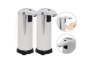 Automatiske såpedispensere 2 stk infrarød sensor 600 ml bjel