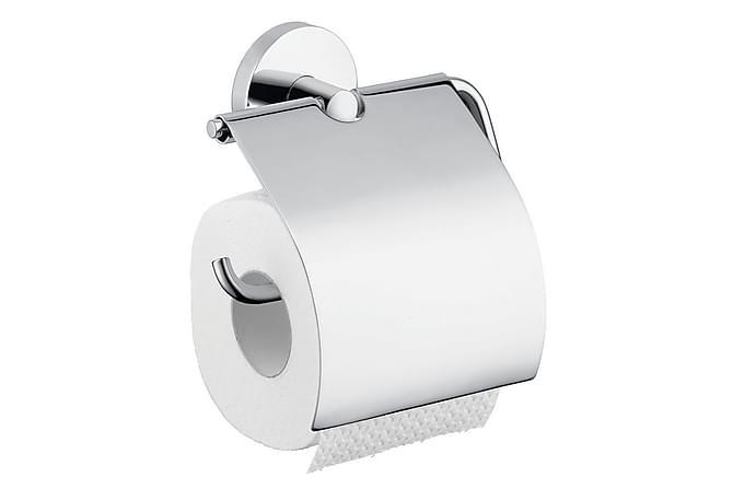 Toalettpapirholder Hansgrohe Logis med Lokk - Baderom - Baderomstilbehør - Toalettrullholder