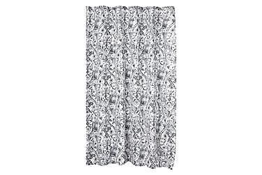 Dusjforheng Blomst 180x200 cm