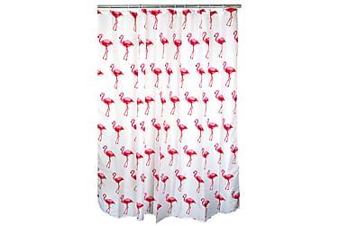 Ferno Dusjforheng Flamingo 180 cm