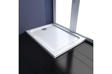 ABS-dusjbunn rektangulær 70 x 90 cm