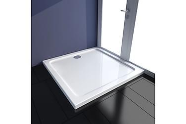 ABS-dusjbunn rektangulær 90 x 90 cm