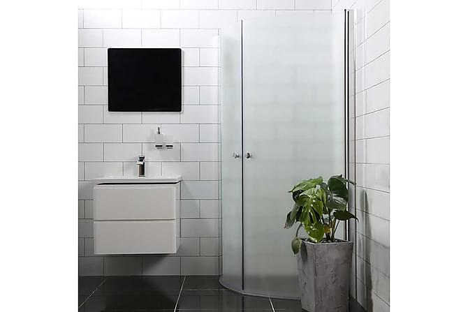 Bathlife Mangesidig Dusjhjørne Rund Dør/Rund Dør - 53,4x53,4cm - Baderom - Dusjer - Dusjhjørne