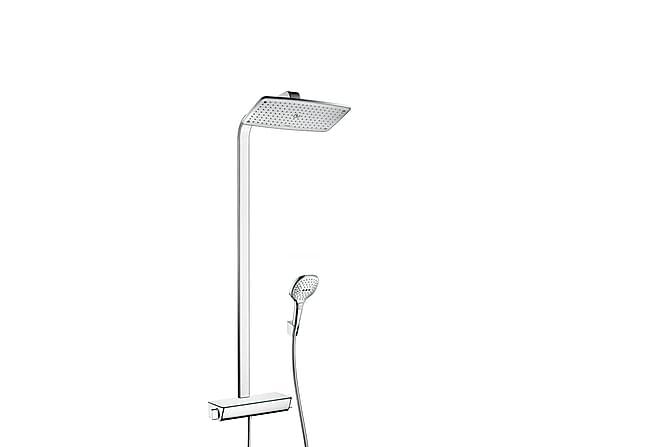 HG Raindance Select 360 Showerpipe krom Dusjsett - Baderom - Dusjutstyr - Dusj