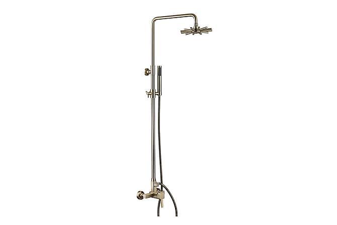Coral Takdusjsett - Rain Shower Combination - Baderom - Dusjutstyr - Dusjmunnstykke