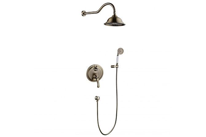 Crespin Takdusjsett - Rain Shower Combination - Baderom - Dusjutstyr - Dusjmunnstykke