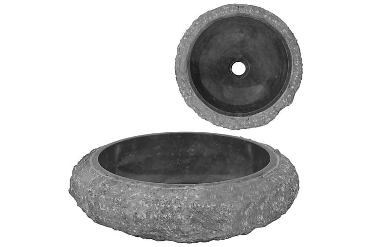 Vask 40x12 cm marmor svart - Baderom - Servant og håndvask - Enkel vask