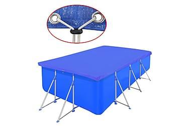 Bassengdekke PE Rektangulært 90 g /m² 400x207 cm