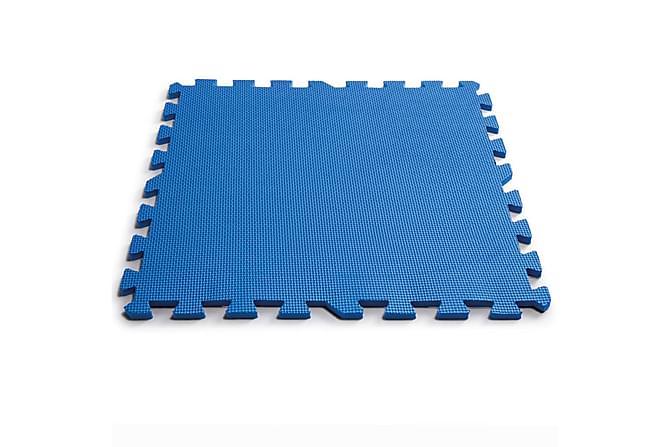 Intex Beskyttelse for bassenggulv 8 stk 50x50 cm blå - Blå - Basseng & spa - Bassengtilbehør - Bassengduk & liner