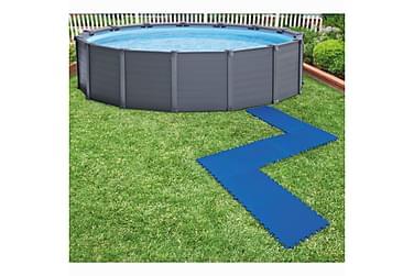 Intex Beskyttelse for bassenggulv 8 stk 50x50 cm blå