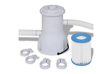Filterpumpe Svømmebasseng 3000 L /h