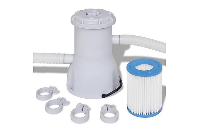 Filterpumpe Svømmebasseng 3000 L /h - Basseng & spa - Spabad rengjøring - Spabad filter