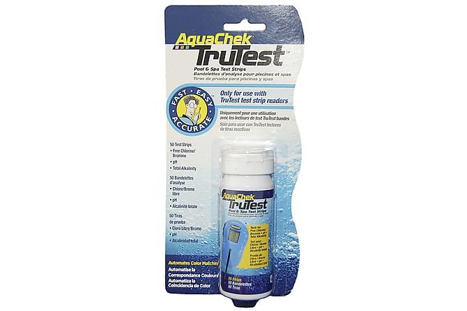 Testpinner til AquaChek Trutester - 50 stk - Basseng & spa - Spa tilbehør - Spabad vedlikehold