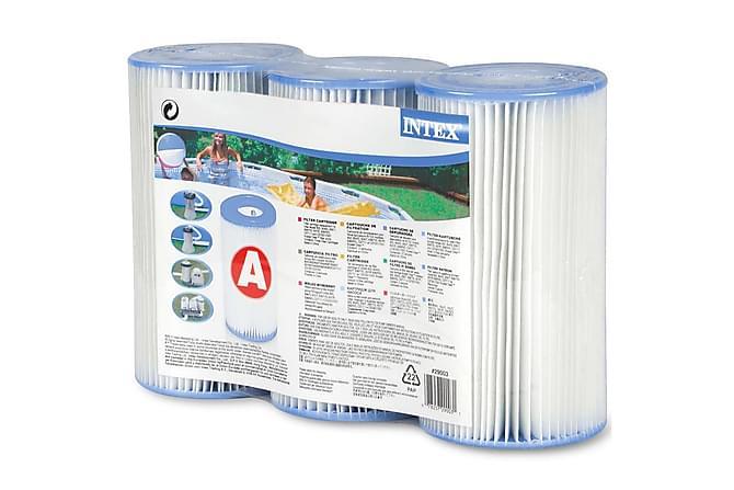 Intex Filterpatroner 3-Pk - Blå - Basseng & spa - Spabad rengjøring - Spabad filter