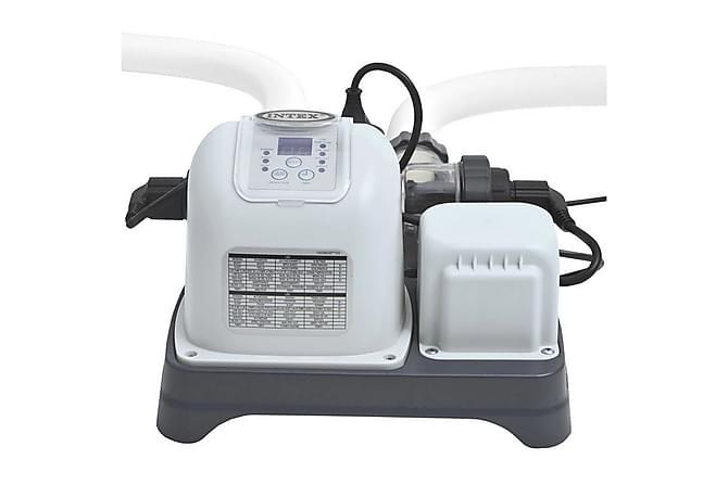 Intex Krystal Clear Eco Saltvannssystem - Hvit - Basseng & spa - Spabad rengjøring - Spabad filter