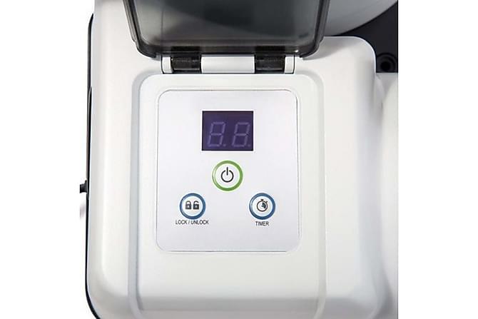 Intex Krystal Clear Sandfilterpumpe - Hvit/Svart - Basseng & spa - Spabad rengjøring - Spabad filter