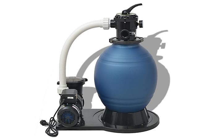 Sandfilterpumpe 1000 W 16800 l/t - Basseng & spa - Spabad rengjøring - Spabad filter