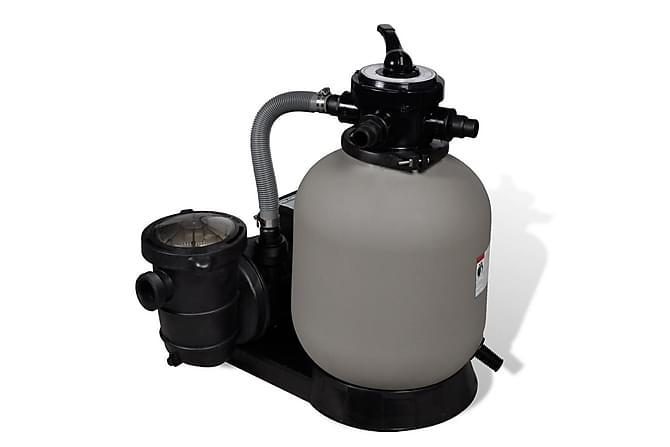 Sandfilterpumpe 600 W 17000 l/t - Basseng & spa - Spabad rengjøring - Spabad filter