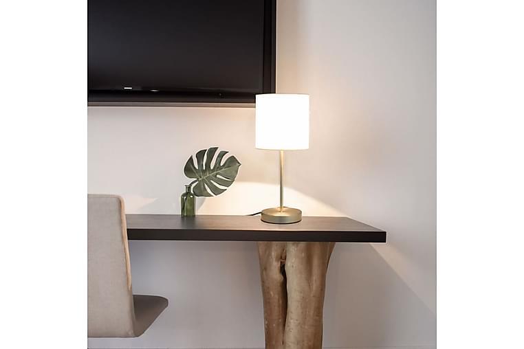 Bordlamper 2 stk berøringsknapp hvit E14 - Belysning - Innendørsbelysning & Lamper - Bordlampe