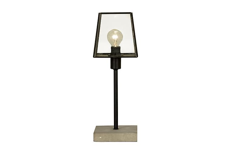 Diplomat Bordlampe Svart/Grå - Aneta - Belysning - Innendørsbelysning & Lamper - Bordlampe