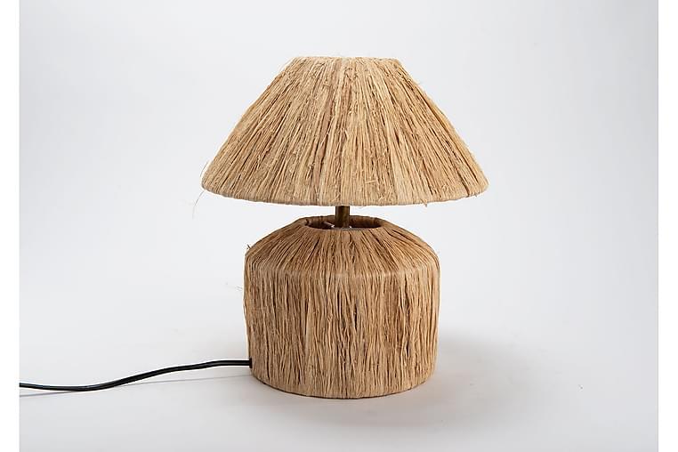 Hagalund Bordlampe - Tre / Natur - Belysning - Innendørsbelysning & Lamper - Bordlampe