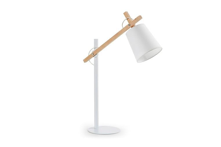 Jovik Bordlampe 50/18 cm - Hvit - Belysning - Innendørsbelysning & Lamper - Bordlampe