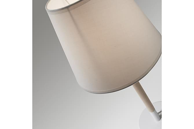 Moskov Bordlampe 23/23 cm - Hvit - Belysning - Innendørsbelysning & Lamper - Bordlampe