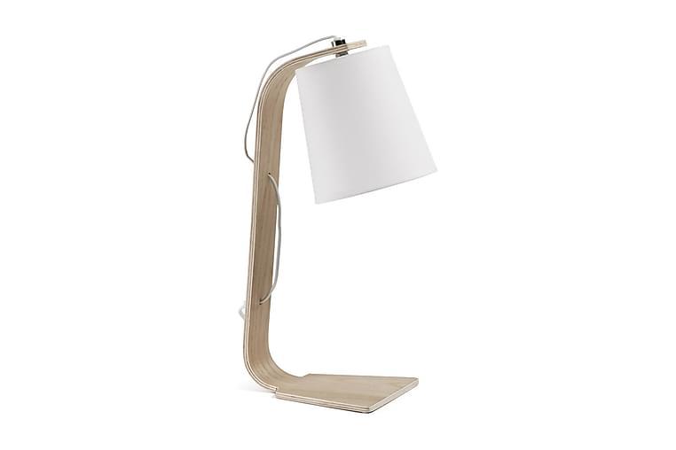Percy Bordlampe 20/16 cm - Natur/Hvit - Belysning - Innendørsbelysning & Lamper - Bordlampe