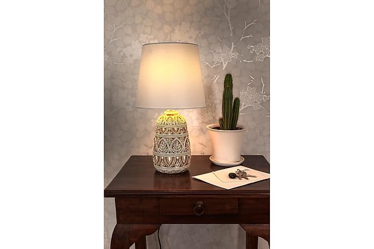 Romeo Bordlampe Antikkhvit - Scan Lamps - Belysning - Innendørsbelysning & Lamper - Bordlampe