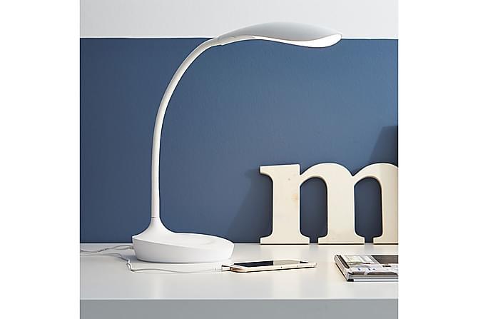 Swan Bordlampe USB Hvit - Markslöjd - Belysning - Innendørsbelysning & Lamper - Bordlampe