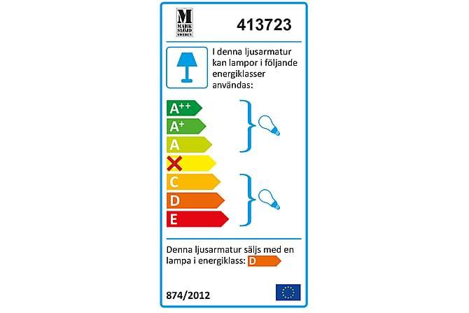 Tobo Bordlampe Krom/Svart - Markslöjd - Belysning - Innendørsbelysning & Lamper - Bordlampe