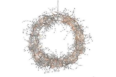 Bore Krans LED 40 cm Sølv