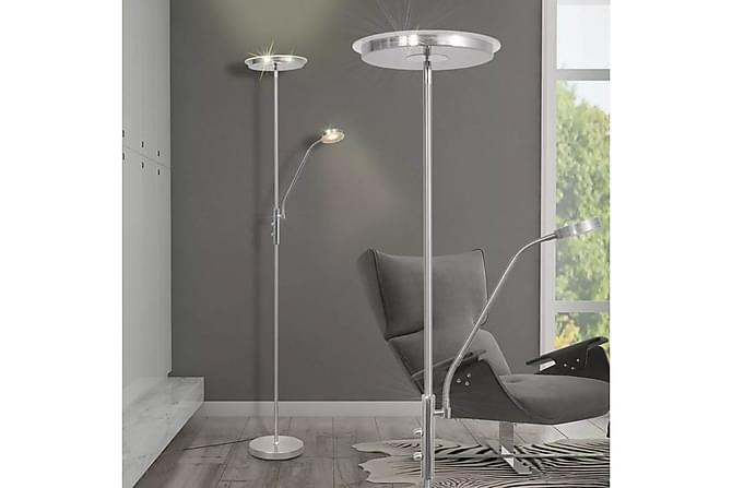 Fernicola Gulvlampe Dimbar LED 23 W - Sølv - Belysning - Innendørsbelysning & Lamper - Gulvlampe