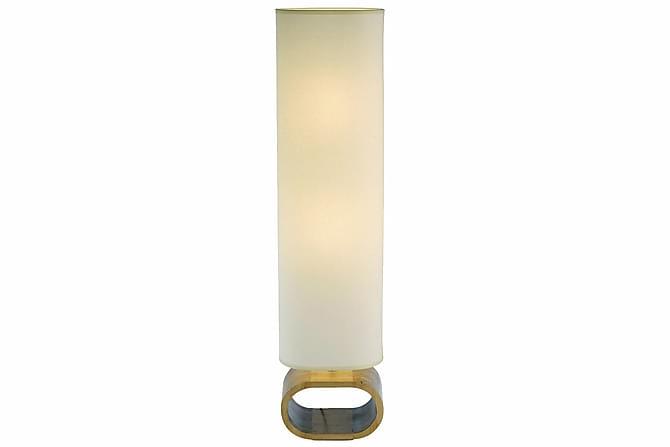Neksö Gulvlampe 2L Eik/Beige - Markslöjd - Belysning - Innendørsbelysning & Lamper - Gulvlampe