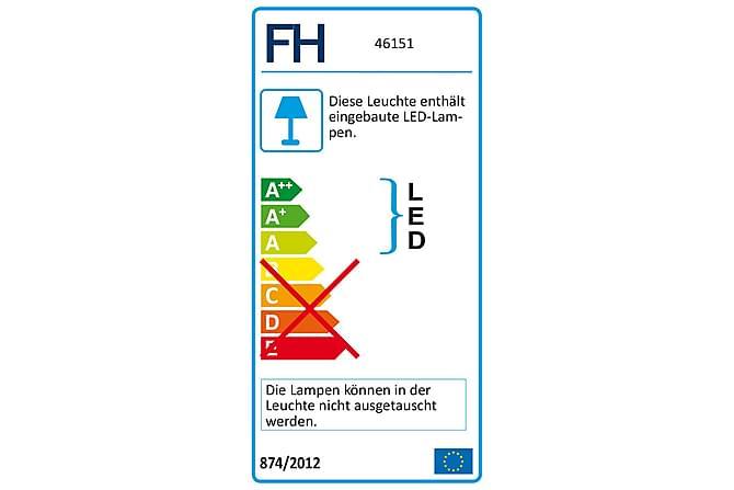 Percy Gulvlampe 2L - Gull - Belysning - Innendørsbelysning & Lamper - Gulvlampe