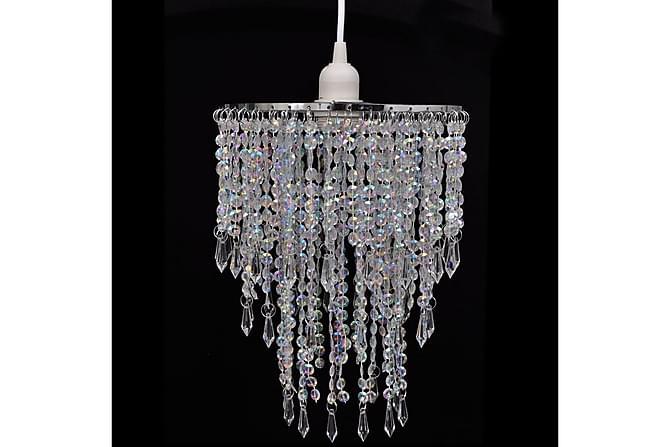 Taklampe/lysekrone 22,5x30,5 cm - Belysning - Innendørsbelysning & Lamper - Krystallkrone & takkrone