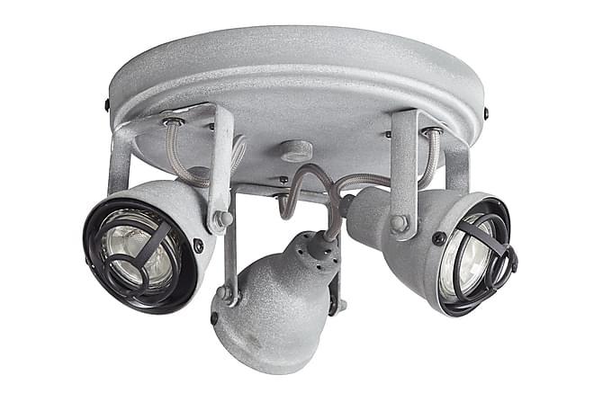 Bairre Spotlights LED 3L - Grå - Belysning - Innendørsbelysning & Lamper - Spotlights & downlights